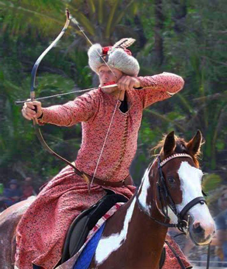 Horse Archery Spectacular Equos et Historia Gold Coast Renaissance Faire 2-3 October 2016