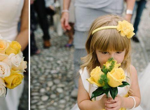 Yellow roses #lakecomowedding #weddingplanner #flowers #yellowthemewedding #italianwedding #lakecomo #comolake