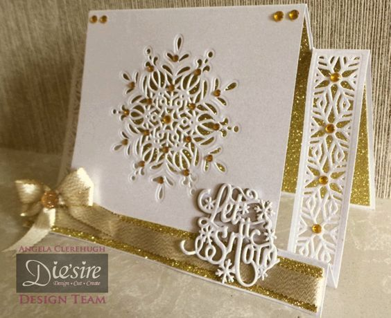 Stepper Card made using Crafter's Companion Die'sire Christmas Cut In… More