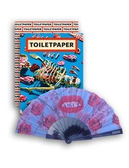 'Toiletpaper' Magazine 13 | Collector's Edition Maurizio Cattelan and Pierpaolo Ferrari - ISBN 9788862085014 - with Toiletpaper fan