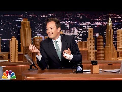 Jimmy Fallon Explains His Finger Injury - YouTube, this cheered me up and was so meaningful, given my foot/ankle injury