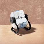 Rolodex 400 Business Card Rotary File