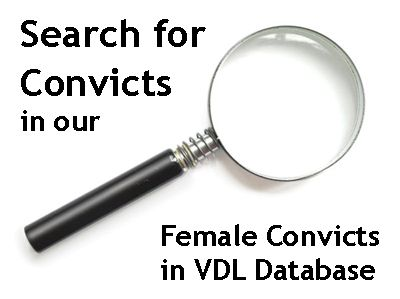 Female Convicts in VDL Database