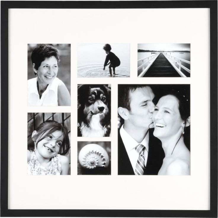 classic black multi pic 4x44x65x78x10 frame crate and