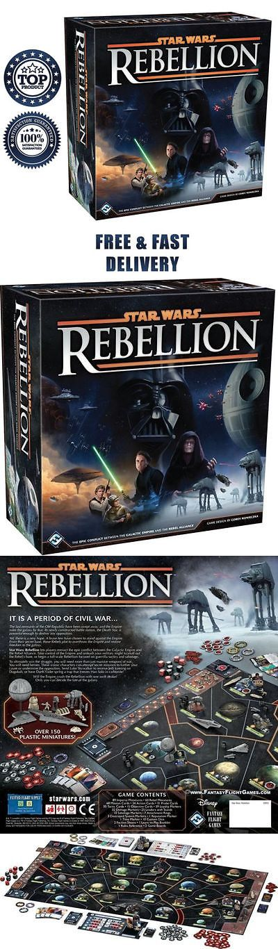 Toy Parts 1198: Star Wars Rebellion Board Game The Galactic Empire And Rebel Alliance Death Fun -> BUY IT NOW ONLY: $102.07 on eBay!