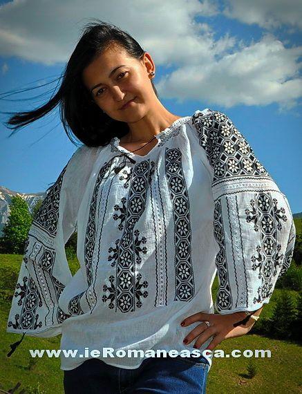 Romanian Blouse - Folk fashion - Ethnic fashion