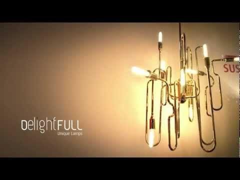 Suspension Lamp Clark- Delightfull | Unique Lamps design lamps vintage retro fashion