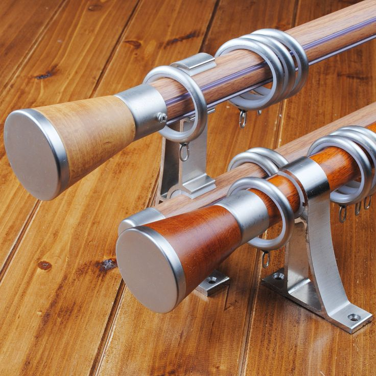 1000 Ideas About Brown Curtain Poles And Tracks On