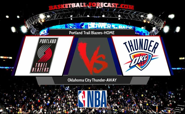 Portland Trail Blazers-Oklahoma City Thunder Nov 5 2017 Regular Season Will Portland Trail Blazers be able to beat the Oklahoma City Thunder team in an home match Portland Trail Blazers-Oklahoma City Thunder Nov 5 2017 ? In the previous 4 games on another's field Oklahoma City Thunder has won 2 victories while In the last 5 games on the home fieldPortland Trail Blazers scored 2 defeats.   #Al-Farouq_Aminu #Andre_Roberson #basketball #bet #C.J._McCollum #Carmelo_Anthony #D