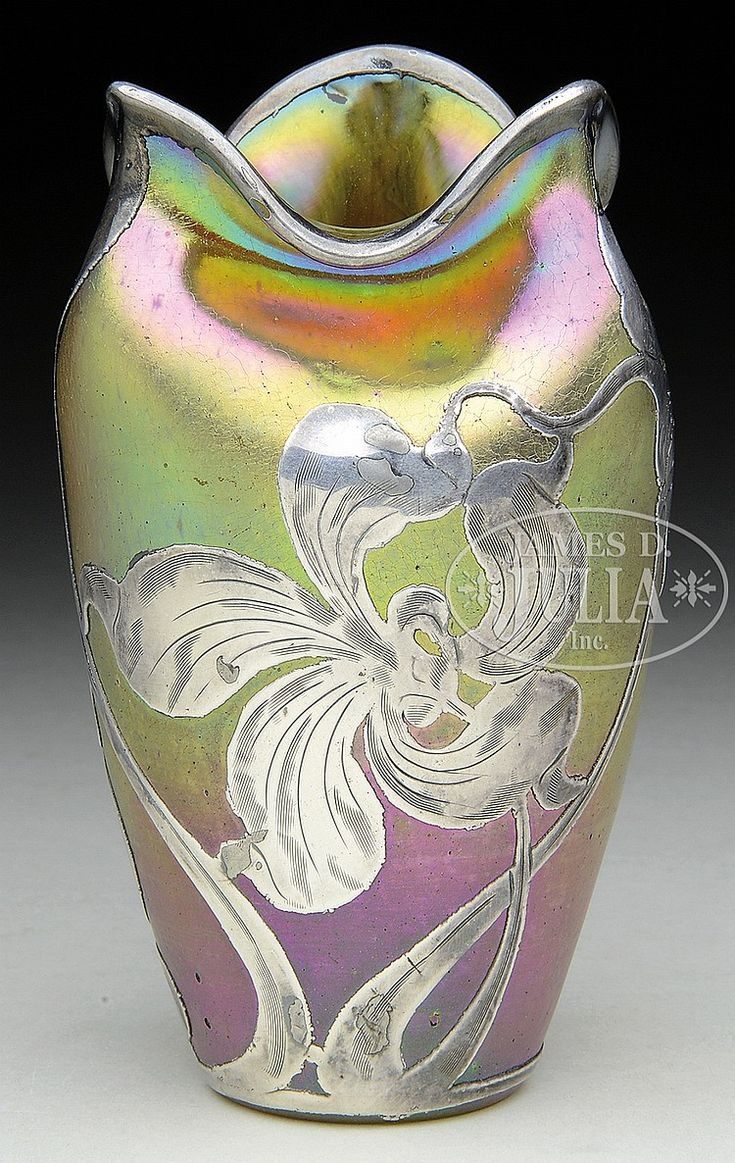 999 best loetz glass austriaczech images on pinterest austria loetz vase has gold iridescent body with pinched and folded rim gold iridescence has bands reviewsmspy