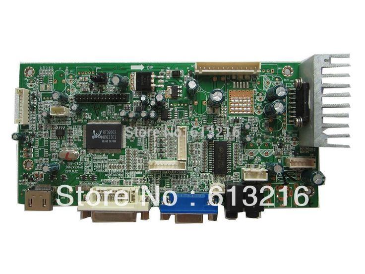 HDMI+DVI+AV+VGA +Audio  TFT LCD controller board support 1920*1440