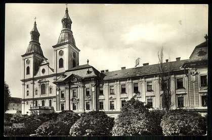1938. Eger, Cisztercita főgimnázium - Szent Bernát Ciszterci Borgia Szent Ferenc templom és rendház | Képcsarnok | Hungaricana