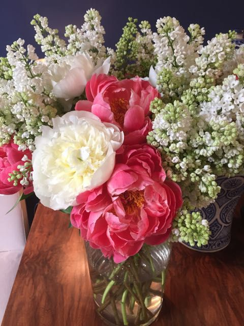 Fabulous pionies for Josta and Laure May 2015