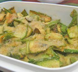 Recept voor gebakken courgette stukjes uit Sardinië.