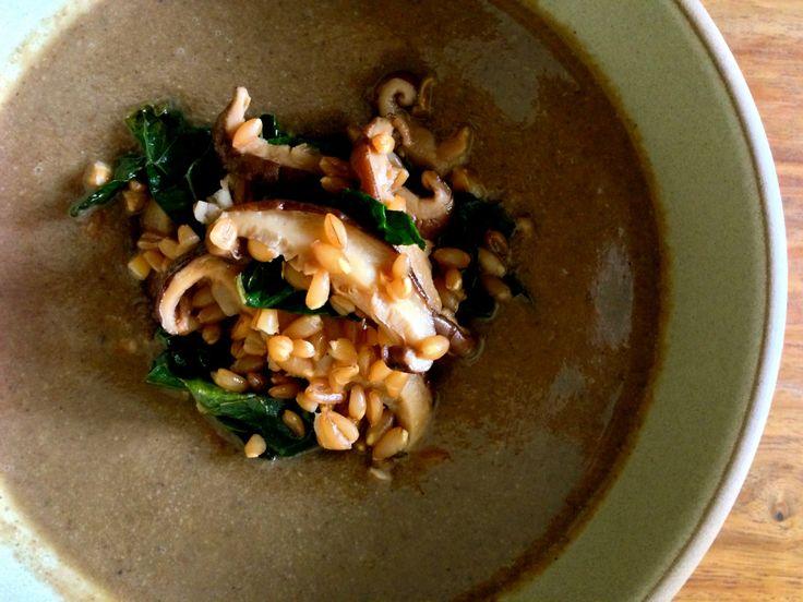 Bourdain's mushroom soup | Soups and Stews | Pinterest | Mushroom soup ...