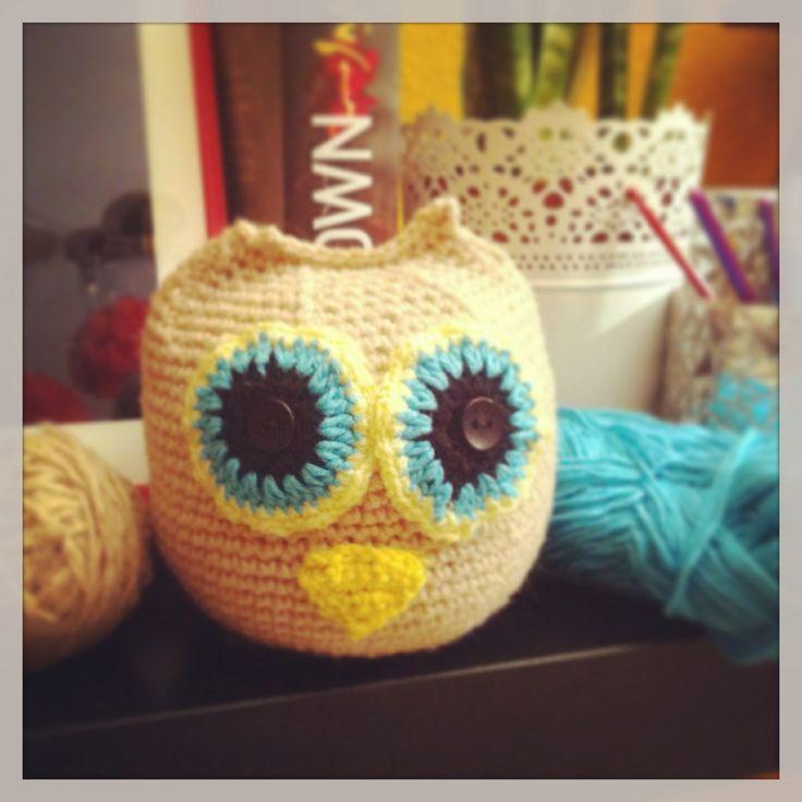 crochet owl <3