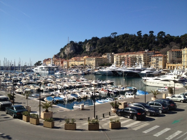 Harbour of Nice - Let´s sail away together