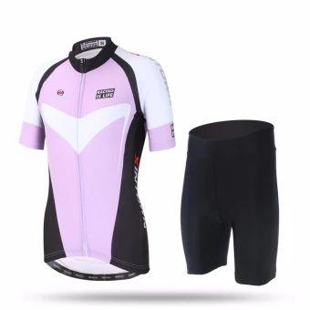 ขอแนะนำ  XINTOWN Women 's riding suits mountain bikes uniforms short -sleeved sets of bicycles shorts shirt suits - intl  ราคาเพียง  1,130 บาท  เท่านั้น คุณสมบัติ มีดังนี้ 1. Bahan Material: 100% poliester shirt, seluar 84% poliester +16% Spandex2. Fungsi: pengeringan bernafas, wicking kelembapan, anjal kalisair.3. Proses percetakan digital: menggunakan diimport dakwat Itali,percetakan digital, warna-warna terang tidak pudar.4. ketiak jahitan kain: ketiak jahitan kain bernafas…