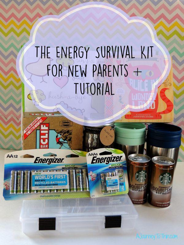 The Energy Survival Kit for New Parents   Tutorial Energizer EcoAdvance Batteries #BringingInnovation #ad