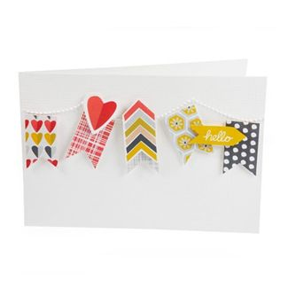 For results day this year, why not make a handmade and thoughtful card to say a big 'Congratulations!' to someone. Using our Hello sunshine paper from Creative Rox, it will brighten up their day! Our website has tutorials to inspire you too...