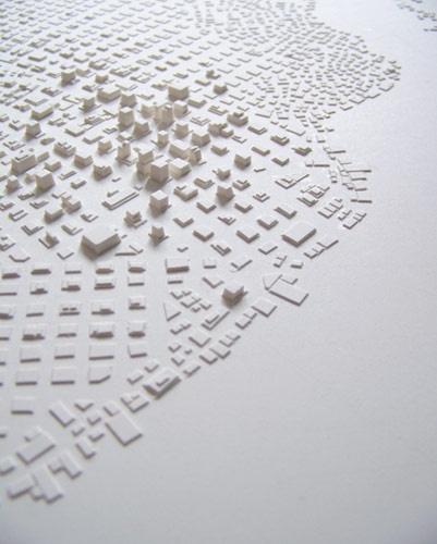scissors + paper rock!: Stephanie Beck  paper cities