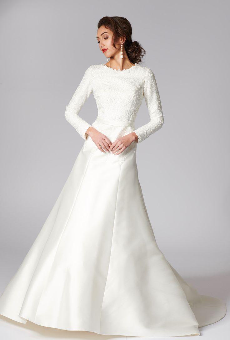 Pin by House of Mooshki on Modest Wedding Dresses   Modest wedding ...