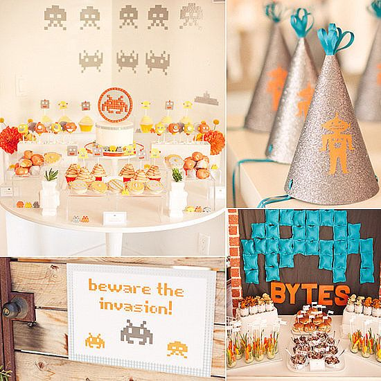 60 of the Best Baby Shower Themes (A Cute and Clever Robot-Inspired Shower)