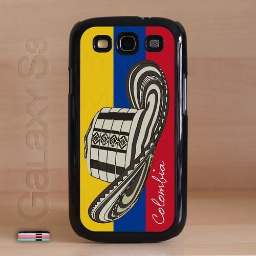 If only they had this on a Galaxy Exhibit or iPod case  Colombia / Colombian Flag Bandera Samsung Galaxy S3 Case