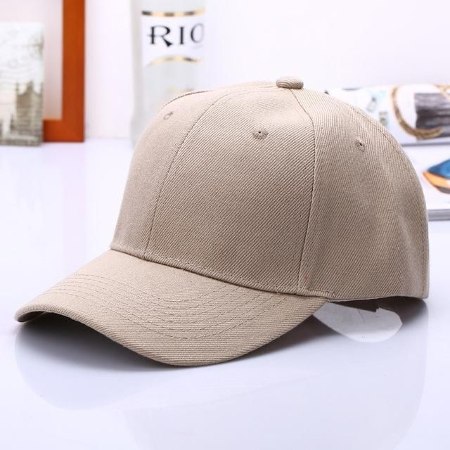 Classic Solid Color Baseball Cap Snapback Caps Casquette Hats Fitted Casual Gorras Hip Hop Hat For Men Women Unisex Dad Caps
