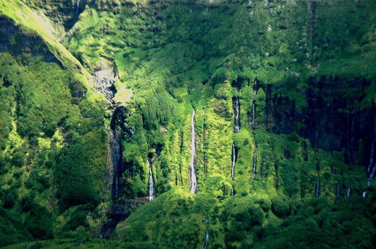 Cascatas - Ilha das Flores - Açores