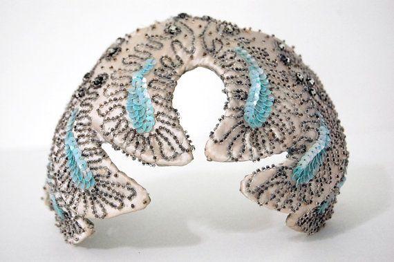 Vintage 1920s FLAPPER Head Piece an Original Hat Nip by DANCIGER #millinery #judithm #hats