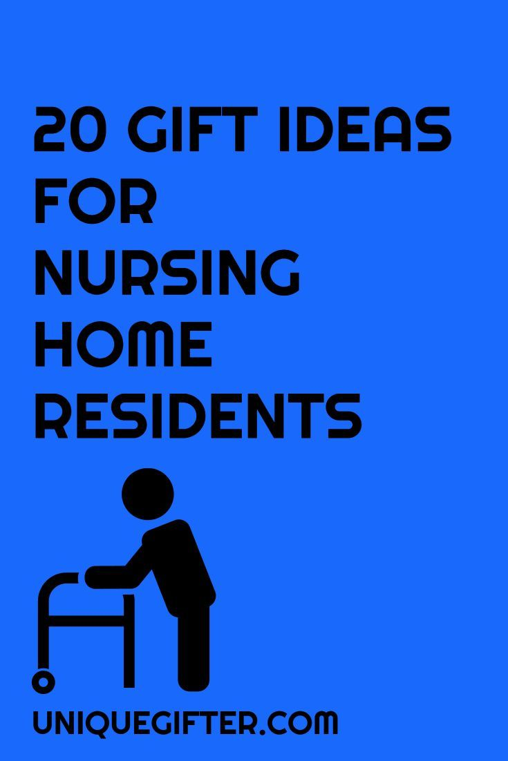 Finding gift ideas for my grandma is so hard; this is such a helpful post! I've got years worth of gift ideas for nursing home residents now, which is good because more family members will be there in a few years. Definitely repin this for the future!