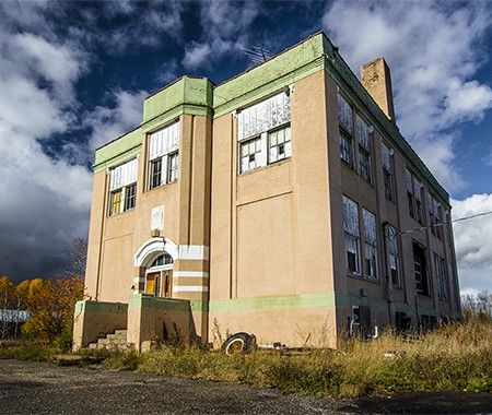 17 best images about abandoned minnesota on pinterest on september theater and ghost towns - The house in the abandoned school ...