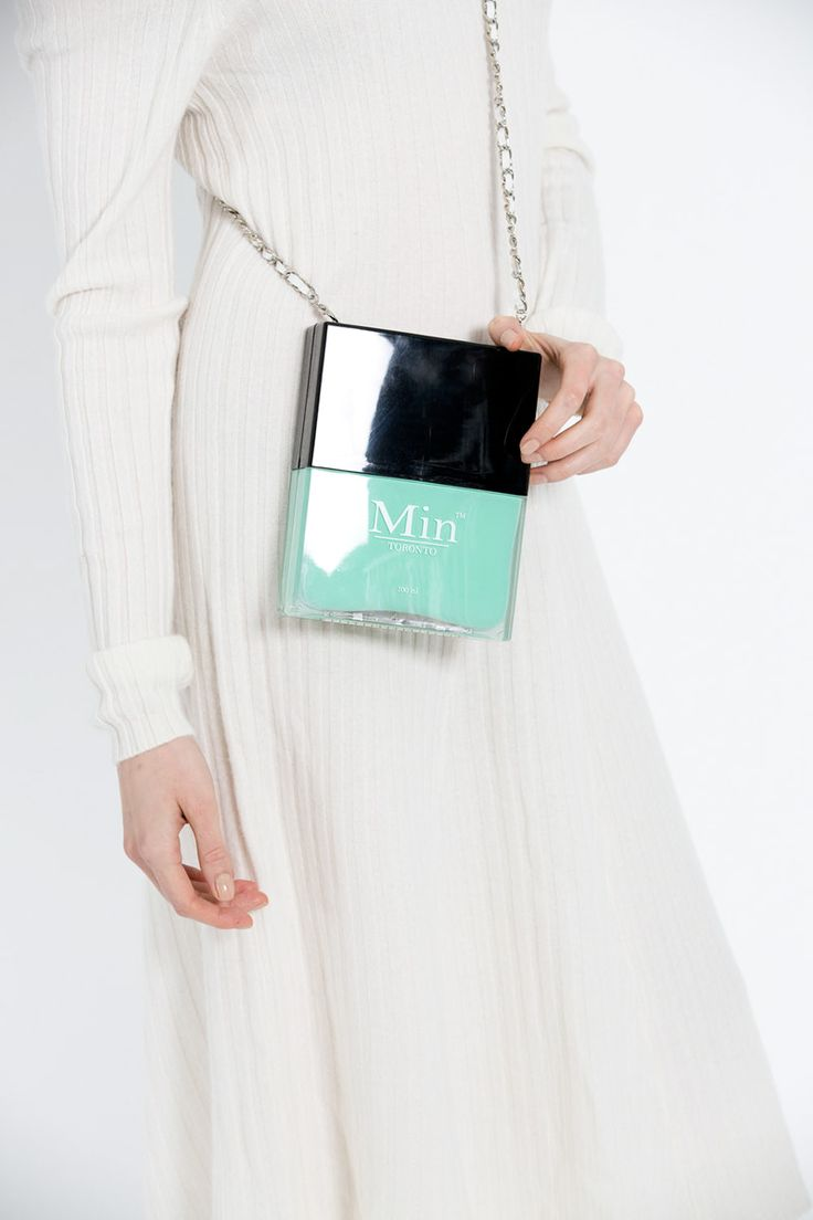 Mint Nail It Cross Body Bag Turquoise