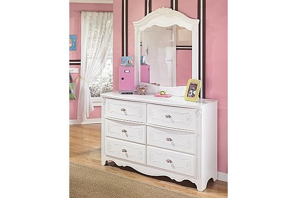 The Exquisite Dresser & Mirror - Ashley