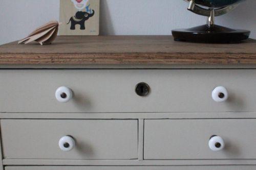 kommode kinder vintage antik holz alt farrow ball. Black Bedroom Furniture Sets. Home Design Ideas