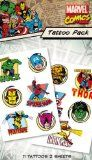 Marvel Characters Temporary Tattoo Pack