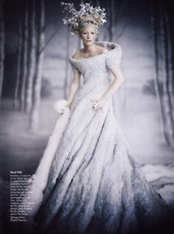 Tilda: Snow Queen, Ice Queen, Paolo Roversi, Tildaswinton, Tilda Swinton, Chronicles Of Narnia, Icequeen, White Witch, Snowqueen
