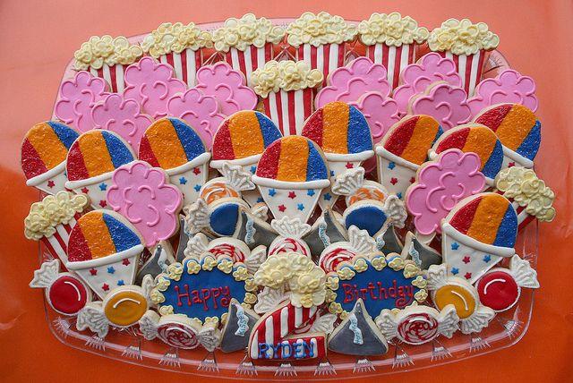 circus theme snacks | Carnival Theme Birthday Platter | Flickr - Photo Sharing!