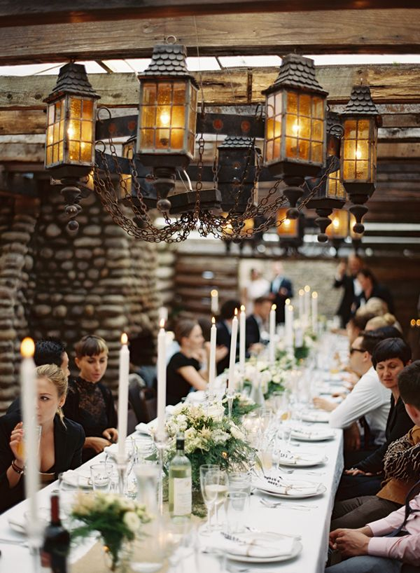 Outdoor Rustic Polish Wedding via Once Wed Photography by Ozzy Garcia
