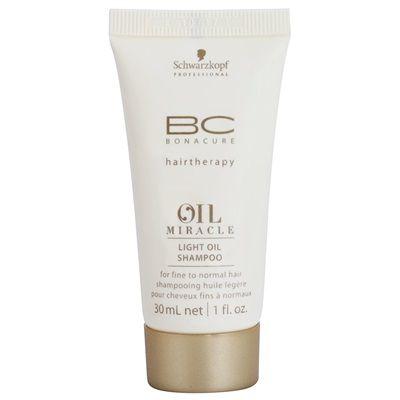 Schwarzkopf Professional BC Bonacure Oil Miracle Marula Oil ľahký olejový šampón pre všetky typy vlasov