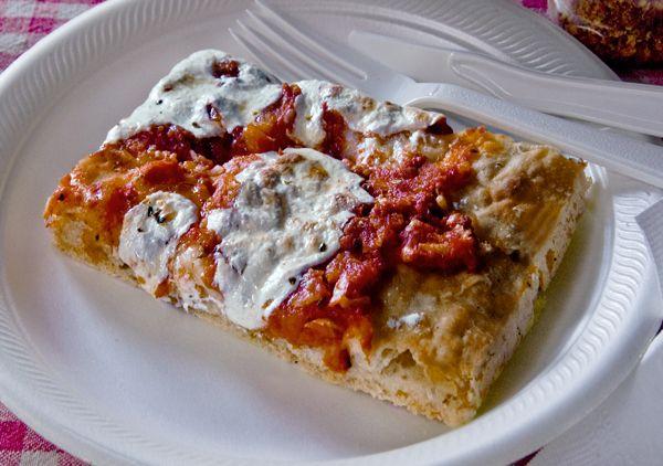 Sicilian-Style Slab Pizza from stephencooks.com