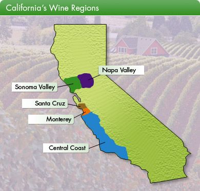 Wine Country Maps! This is on my bucket list, hopefully sooner than later.