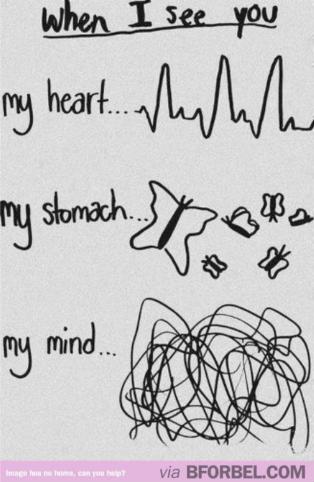 When You Have a Crush on Someone…