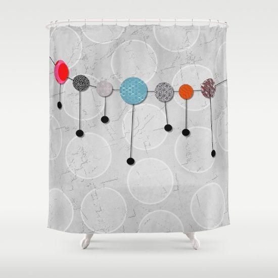 Balloon+Banner+Fun+Shower+Curtain+by+Dragonfire+Graphics+-+$68.00