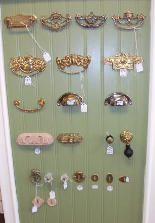 Reproduction of antique Hardware