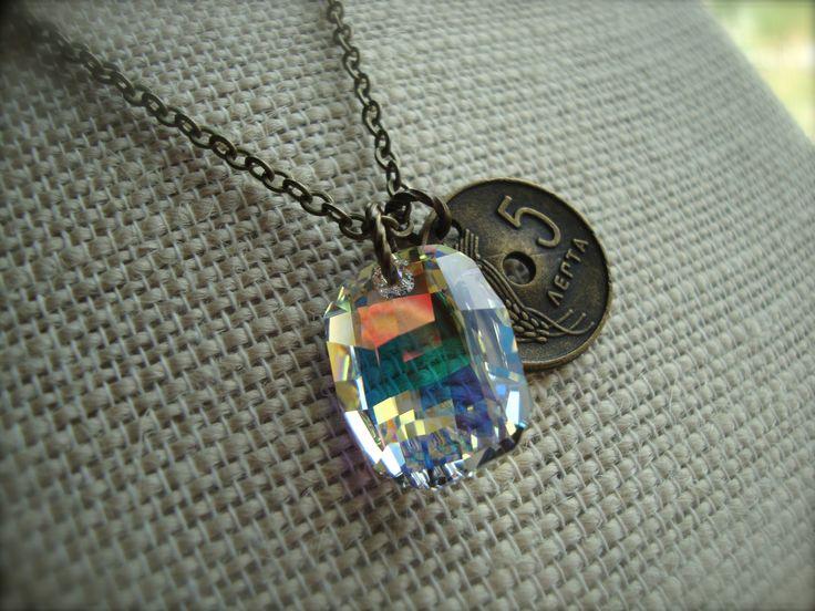 Percy Jackson Drachma | Iris Message ~ Percy Jackson Sea of Monsters Golden Drachma Necklace ...