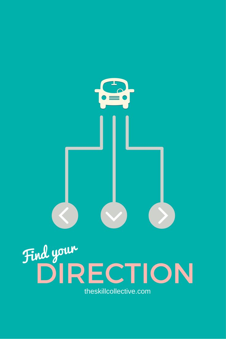 Caught up in the day-to-day stress and lost sight of the bigger picture? Let's get back some direction in life. http://theskillcollective.com/blog/find-your-direction-in-life