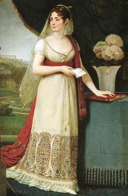 Gros. Retrato de la Emperatriz Josefina, 1808