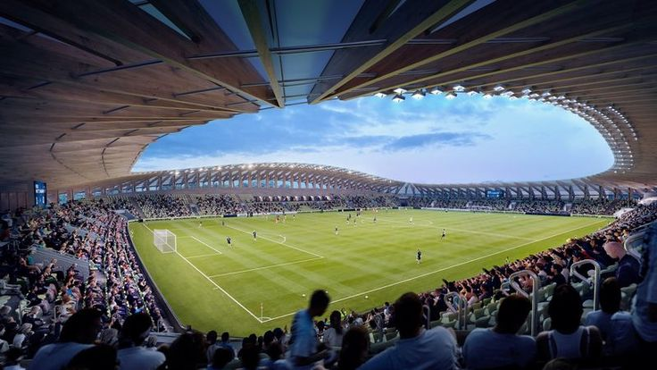 The Forest Green Rovers New Stadium is the First Ever All-Wood Design